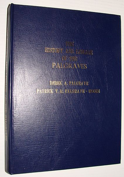 Image for History and Lineage of the Palgraves