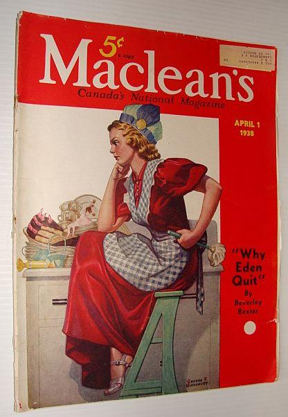 Maclean's Magazine, 1 April 1938, Multiple Contributors