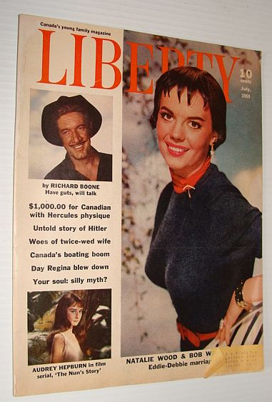 Liberty Magazine,  Canada's Young Family Magazine, July 1959, Multiple Contributors