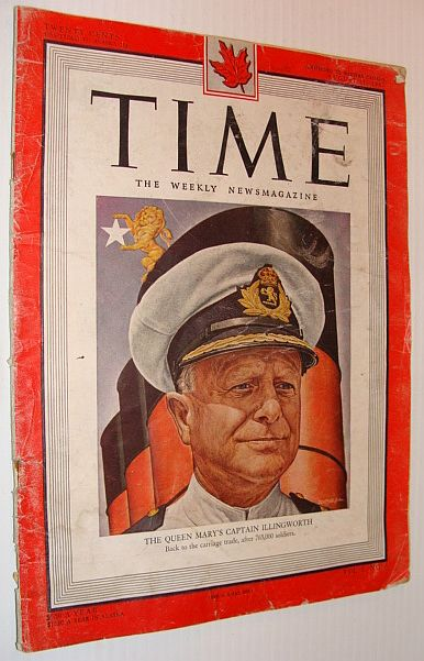 Time Magazine - Canadian Edition - 11 August 1947, Multiple Contributors