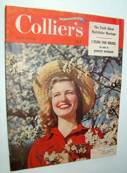 Image for Collier's - The National Weekly Magazine, April 30, 1949 - Tennis Player Gertrude Moran