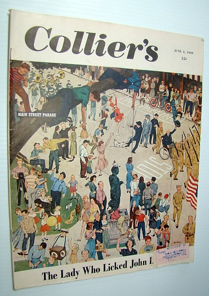 Collier's - The National Weekly Magazine, June 4, 1949 : Hank Meyers - Pilot to the President, Stavisky, Sam; Fay, Bill; Hartwell, Dickson; Frank, Stanley; Frazier, George; Wilson, Karl; Wilson, Herbert Emerson; Gehman, Richard B.