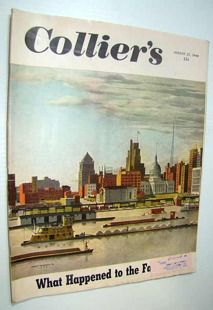 Image for Collier's, The National Weekly Magazine, August 27, 1949 - Chester Bowles / Jerry Wald