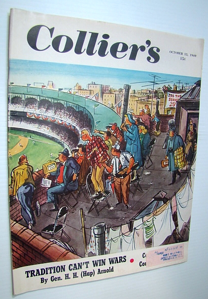 Collier's, The National Weekly Magazine, October 13, 1949 - Lincoln's Lost Speech / Clown Ed Wynn, Arnold, General H.H. (Hap); Sandburg, Carl; Hill, Gladwin; Davidson, Bill; Gresham, William Lindsay; Gehman, Richard B.; Fay, Bill; Brandon, William; Heinz, W.C.; Archer, Jules; Grubb, Dave; Gardner, Erle Stanley; Macaulay