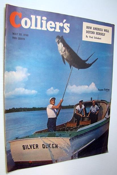 Image for Collier's Magazine, May 22, 1948 - Tarpon Fishing Cover Photo