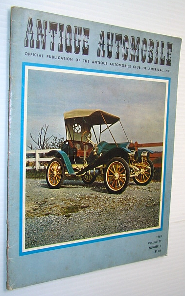 Image for Antique Automobile Magazine - Official Publication of the Antique Automobile Club of America, Inc., January-February 1963