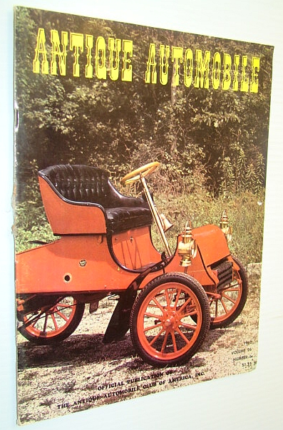 Image for Antique Automobile Magazine - Official Publication of the Antique Automobile Club of America, Inc., December 1962 - George M. Holley