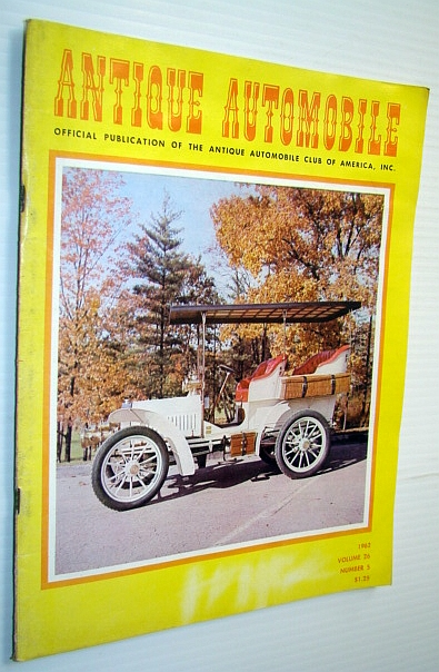 Image for Antique Automobile Magazine - Official Publication of the Antique Automobile Club of America, Inc., October 1962 - Rambler Album 1897-1962