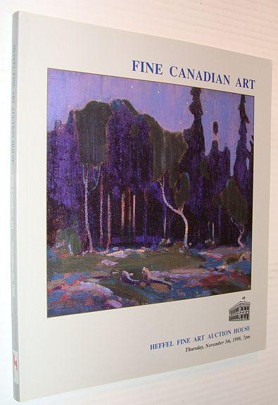 Image for Fine Canadian Art - Auction Catalogue, 5 November 1998, Vancouver - Heffel Fine Art Auction House