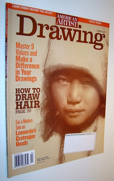 Image for American Artist Magazine - Drawing, Summer 2009: How to Draw Hair