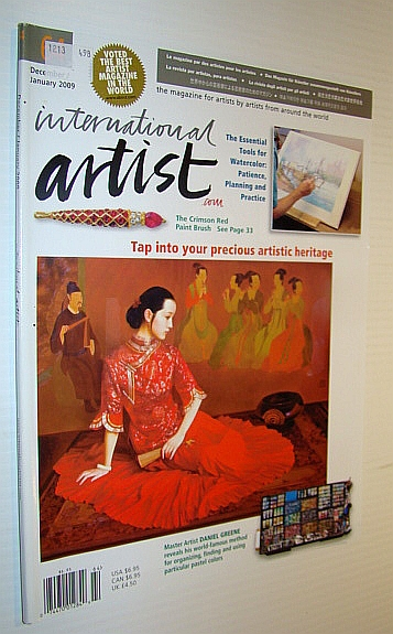 Image for International Artist Magazine, December/January 2009 - Tap Into Your Precious Artistic Heritage