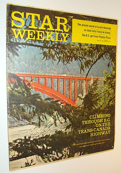 Star Weekly Magazine, April 24, 1965 - Harry Peteran is Shoemaker at Sick Kid's Hospital, Peteran, Beth; Locke, Jeannine; Wagner, Arlo T.; Stewart, Walter; Elwood, Marjorie; West, Barbara; Barrie, Anne; Knight, James; Rasky, Frank
