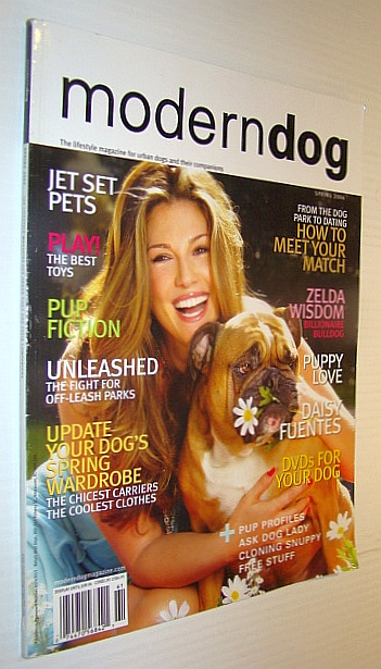 Image for ModernDog (Modern Dog) Magazine, Spring 2006 - Daisy Fuentes Cover Photo