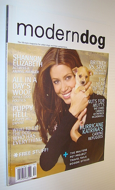 Image for Modern Dog Magazine Winter 2005 / 2006 - Shannon Elizabeth Cover Photo
