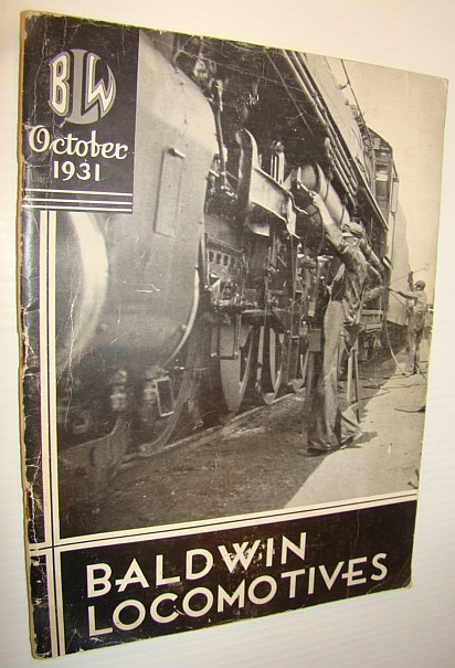 Baldwin Locomotives, October 1931, Author Not Stated