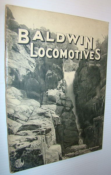 Baldwin Locomotives, April 1929, Author Not Stated