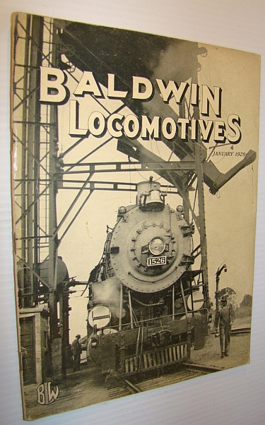 Baldwin Locomotives, January 1929, Author Not Stated