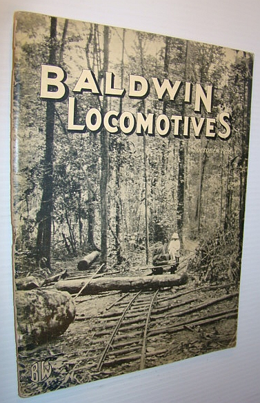 Baldwin Locomotives, October 1928, Author Not Stated