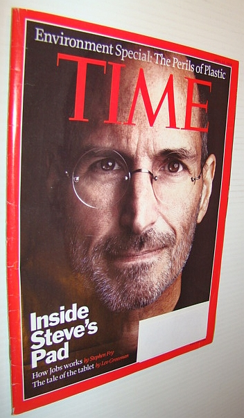 Image for Time Magazine, 12 April 2010 - Steve Jobs Cover