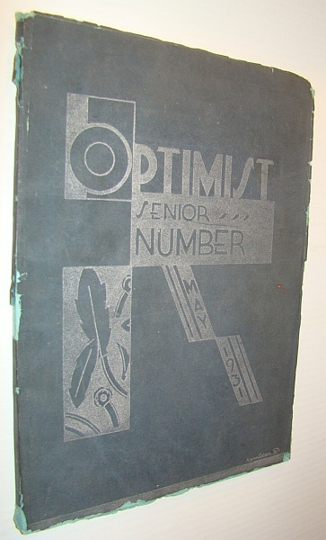 Image for Optimist Senior Number, May 1931: Yearbook of South Side High School, Newark New Jersey