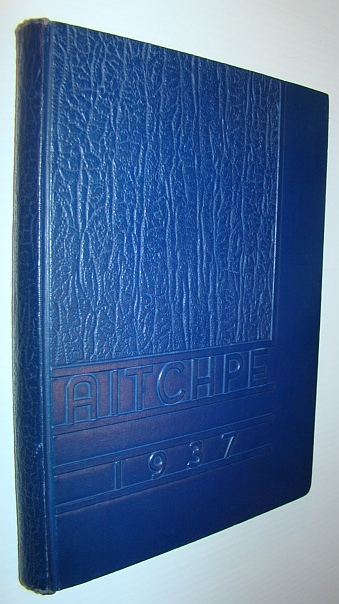 MULTIPLE CONTRIBUTORS - Aitchpe 1937: The Yearbook of Hyde Park High School, Chicago, Illinois