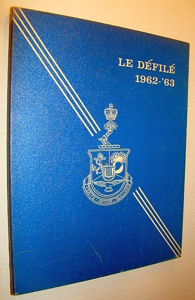 Image for Le College Militaire Royal De Saint-Jean - Annual Review / Yearbook / Le Defile, 1962-1963