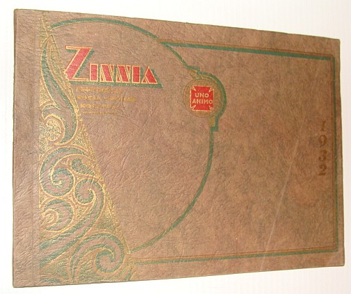 Image for Zinnia 1932 - Yearbook (Year Book) of The (British Columbia) Provincial Royal Jubilee Hospital Training School for Nurses