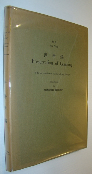 Image for Preservation of Learning - With an Introduction on His Life and Thought - Monumenta Serica Monograph XVI