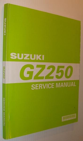 Suzuki Gz Blue Book