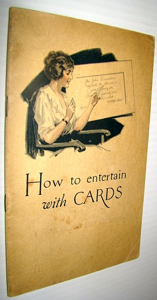Image for How to Entertain with Cards: Private Parties, Public Parties, Social Clubs