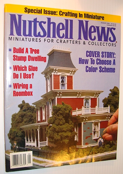 Nutshell News Magazine, August 1996 - How to Choose a Colour Scheme, Multiple Contributors