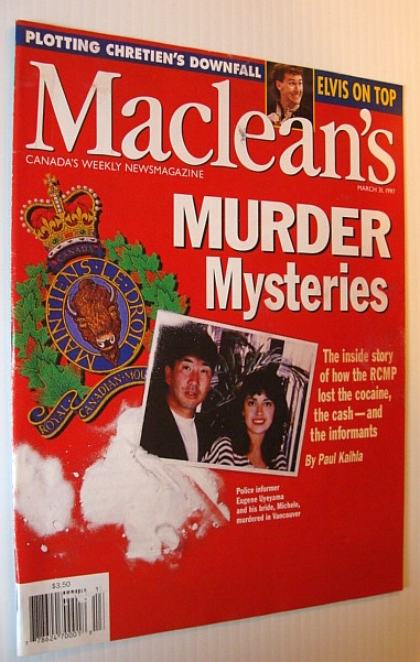 Maclean's Magazine, March 31, 1997 - RCMP Drug Bust Gone Wrong, Multiple Contributors