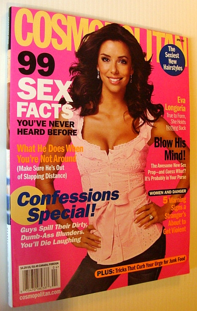 MULTIPLE CONTRIBUTORS - Cosmopolitan Magazine, April 2007 - Eva Longoria Cover
