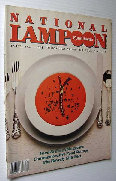 National Lampoon Magazine, March 1982 - Food Issue, Multiple Contributors