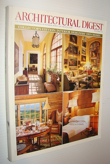 Image for Architectural Digest Magazine, September 1997 - Interior Designer's Own Homes