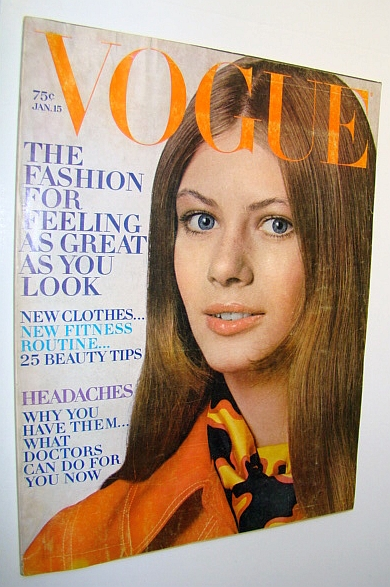 Vogue Magazine - Incorporating Vanity Fair (US), January 15, 1970 -  The Fashion For Feeling As Great As You Look / Special Hawaii Content, Crummere, Maria Elise; Harrington, Stephanie; Kendall, Elaine; Saltwood, Lord Clark of; Weldon, Jill; Talmey, Allene; Goldstein, Richard; Durrell, Lawrence; Kazin, Alfred; Gruen, John; West, Anthony; Amram, David; Crewe, Quentin; Messinesi, Despina