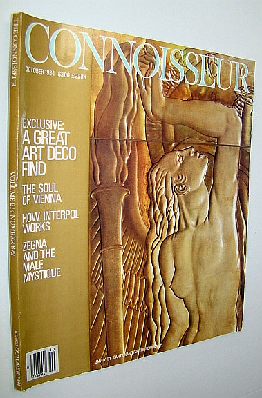 Image for Connoisseur Magazine, October 1984 - A Great Art Deco Find