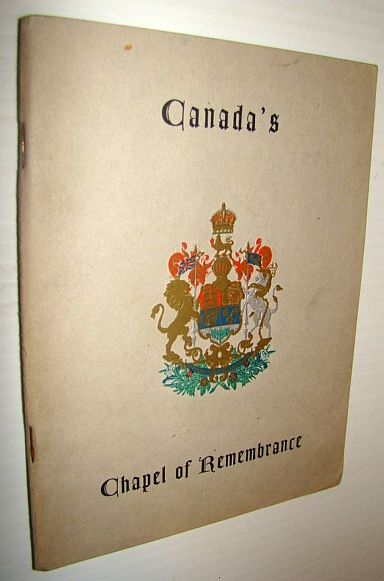 Image for Canada's Chapel of Remembrance