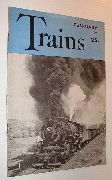 Trains Magazine, September 1943, Vol. 3, No. 4, Multiple Contributors