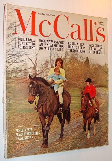 McCall's Magazine, March 1963, Multiple Contributors