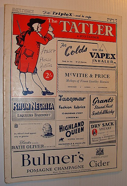 The Tatler and Bystander (Magazine), October 10, 1951, Multiple Contributors