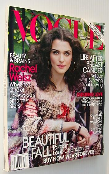Vogue (U.S.), October 2008 *Rachel Weisz Cover Photo*, Multiple Contributors