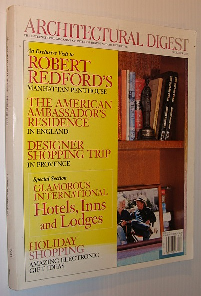 Image for Architectural Digest Magazine, December 2000 *Robert Redford's Manhattan Penthouse*