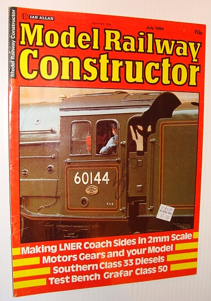 MULTIPLE CONTRIBUTORS - Model Railway Constructor Magazine, July 1984