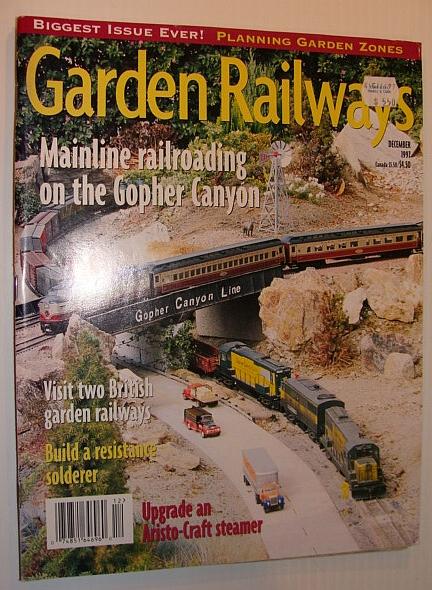 Image for Garden Railways Magazine, December 1997