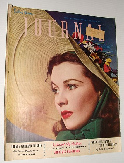 Ladies' Home Journal:  September 1940  **Vivien Leigh Cover, Multiple Contributors