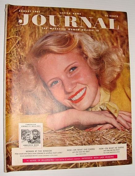 Ladies' Home Journal:  August 1951, Multiple Contributors