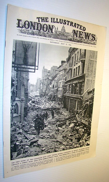 The Illustrated London News, 22 July 1944, Various Contributors
