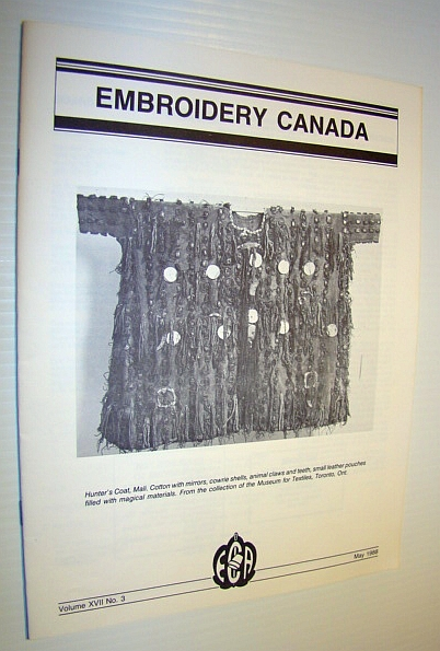 Embroidery Canada Magazine, May 1988, Multiple Contributors