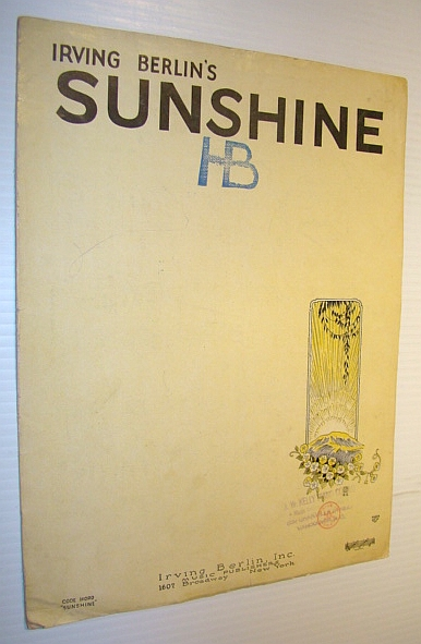 Image for Sunshine: Sheet Music for Voice and Piano with Ukulele Chords